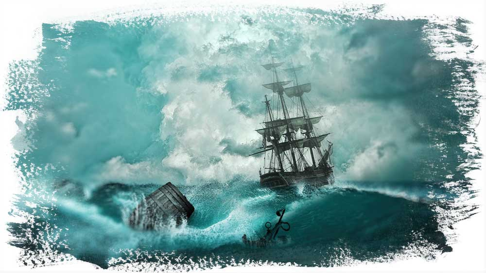 Érase una vez, un barco que navegaba por un mar más o menos estable. Un barco que tenía los diferentes rumbos establecidos.  Un día, empezó una tormenta, una tormenta catastrófica, una tormenta desconocida, una tormenta que no sabía cómo esquivar. Sus velas se rompieron, sus motores se pararon, sus maderas empezaron a desclavarse.