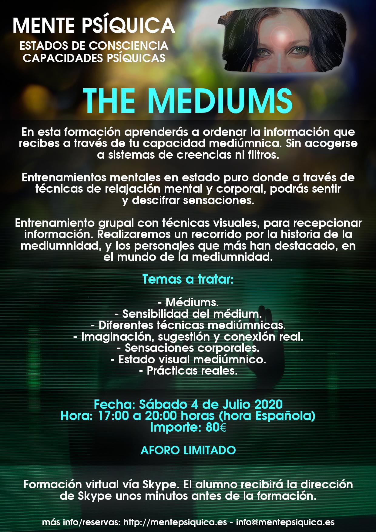 The Mediums @ Mente Psíquica